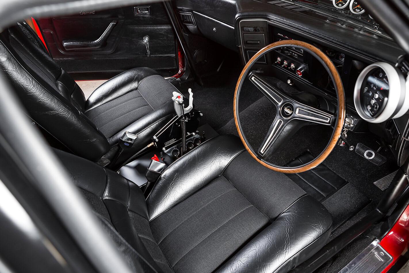 Ford Falcon XA coupe interior