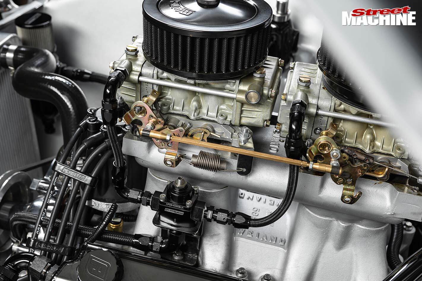 Ford Falcon XP engine bay