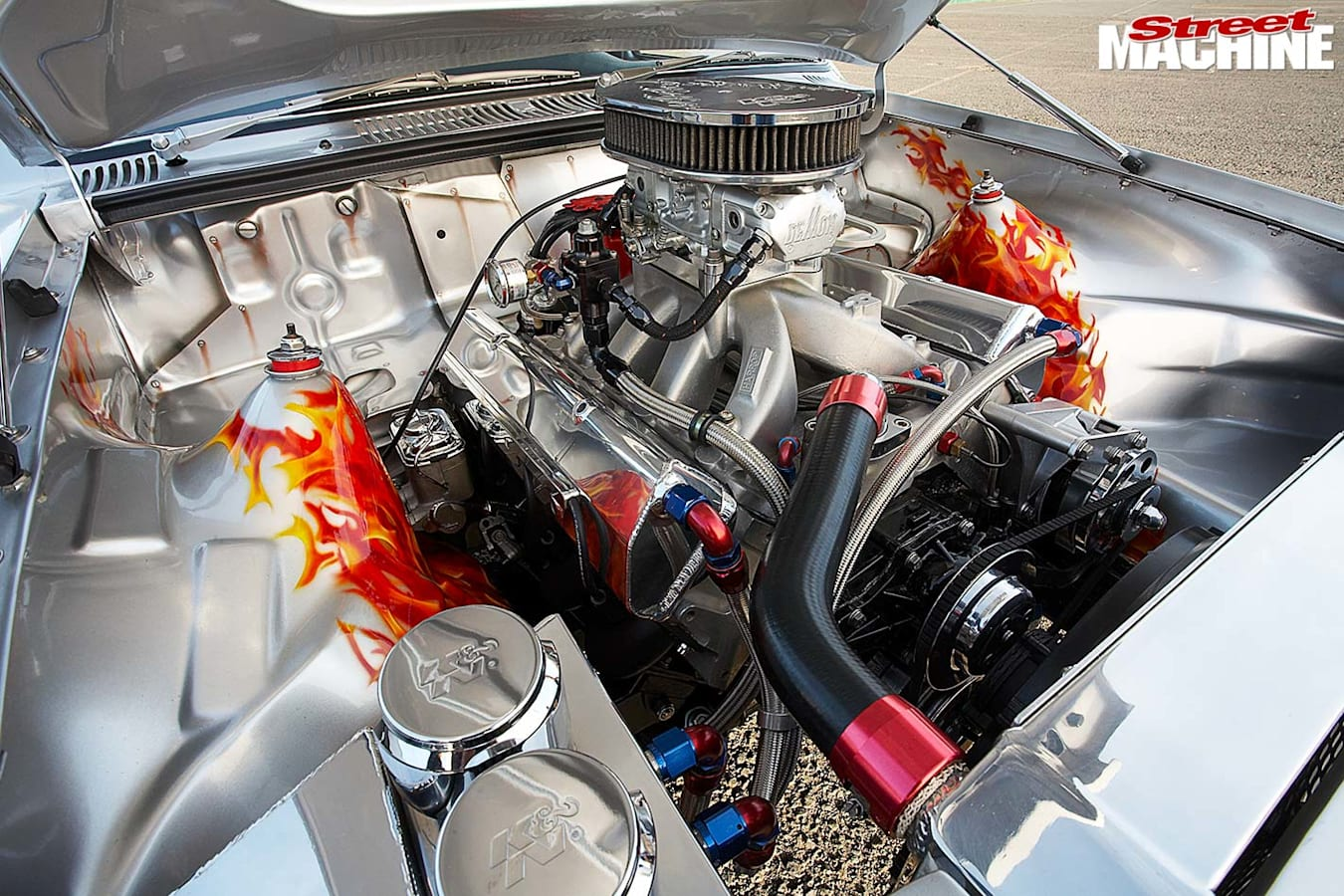 Holden TC Gemini engine bay