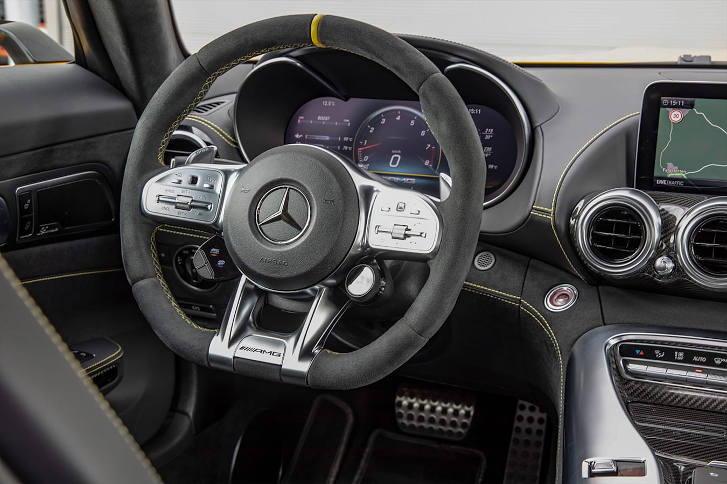 Mercedes Amg Gt Steer Jpg
