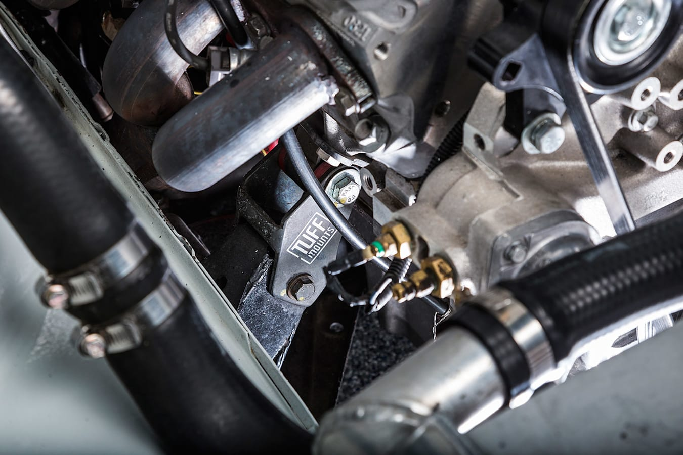 Holden VH Commodore engine