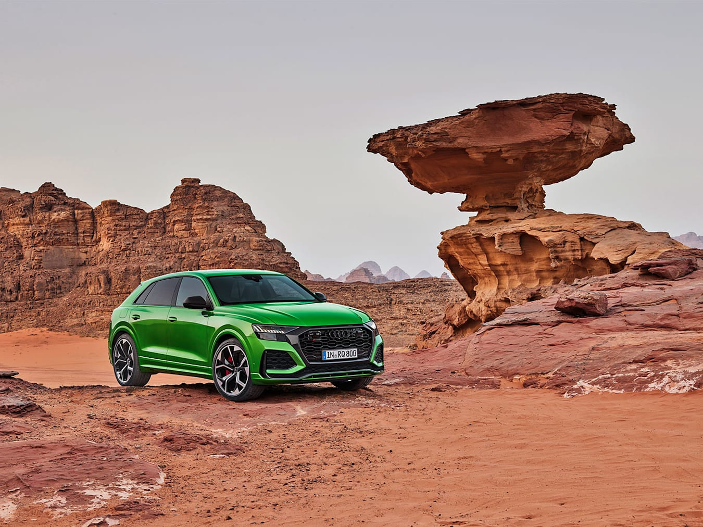 Audi RS Q8 Off-road