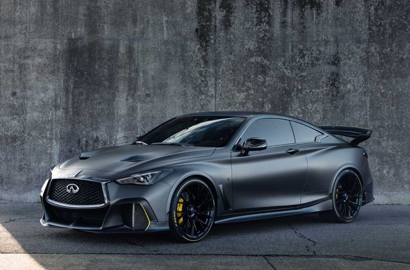 Infiniti Q60 Red Sport engine 418kW KERS system
