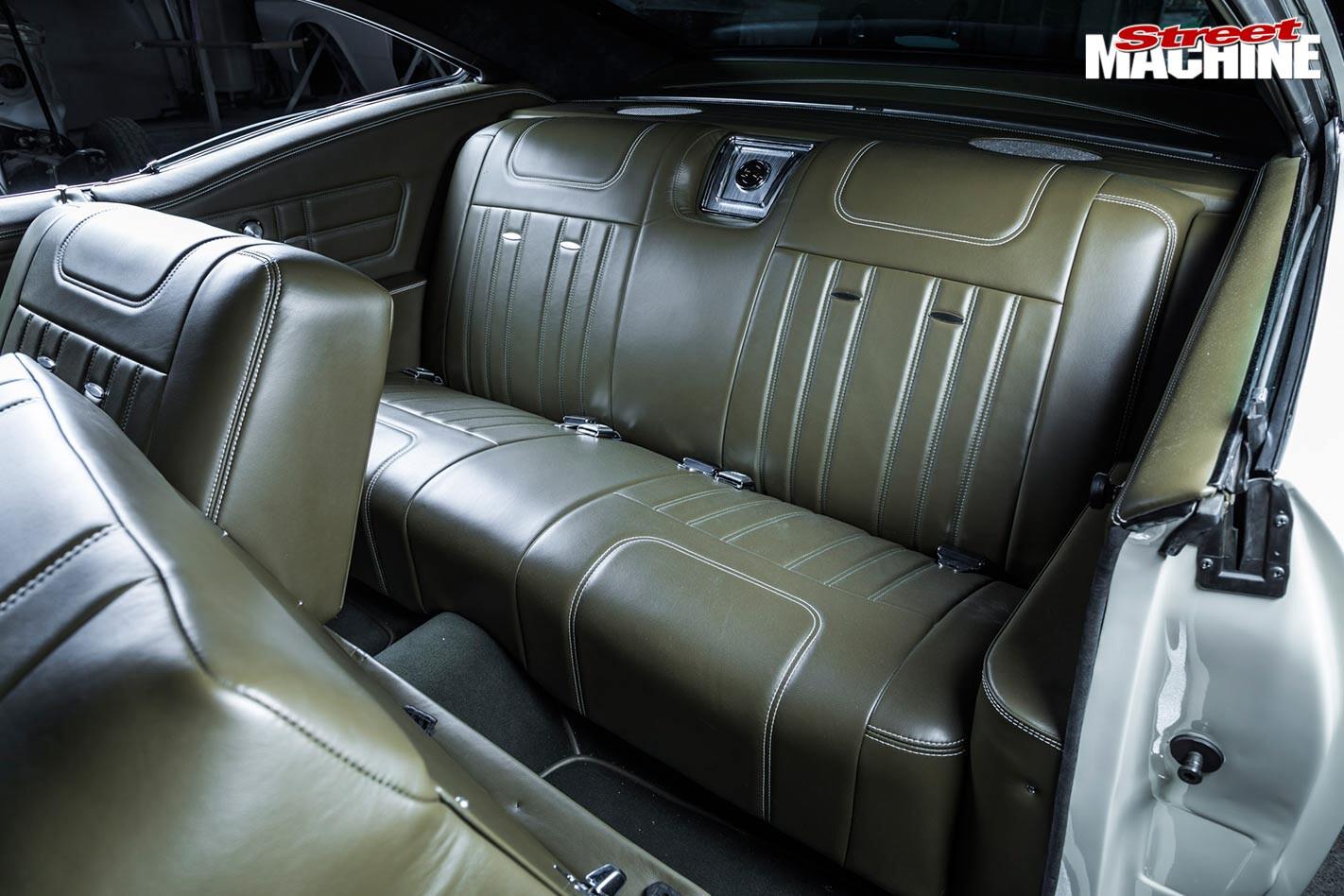 Chev Impala rear seats