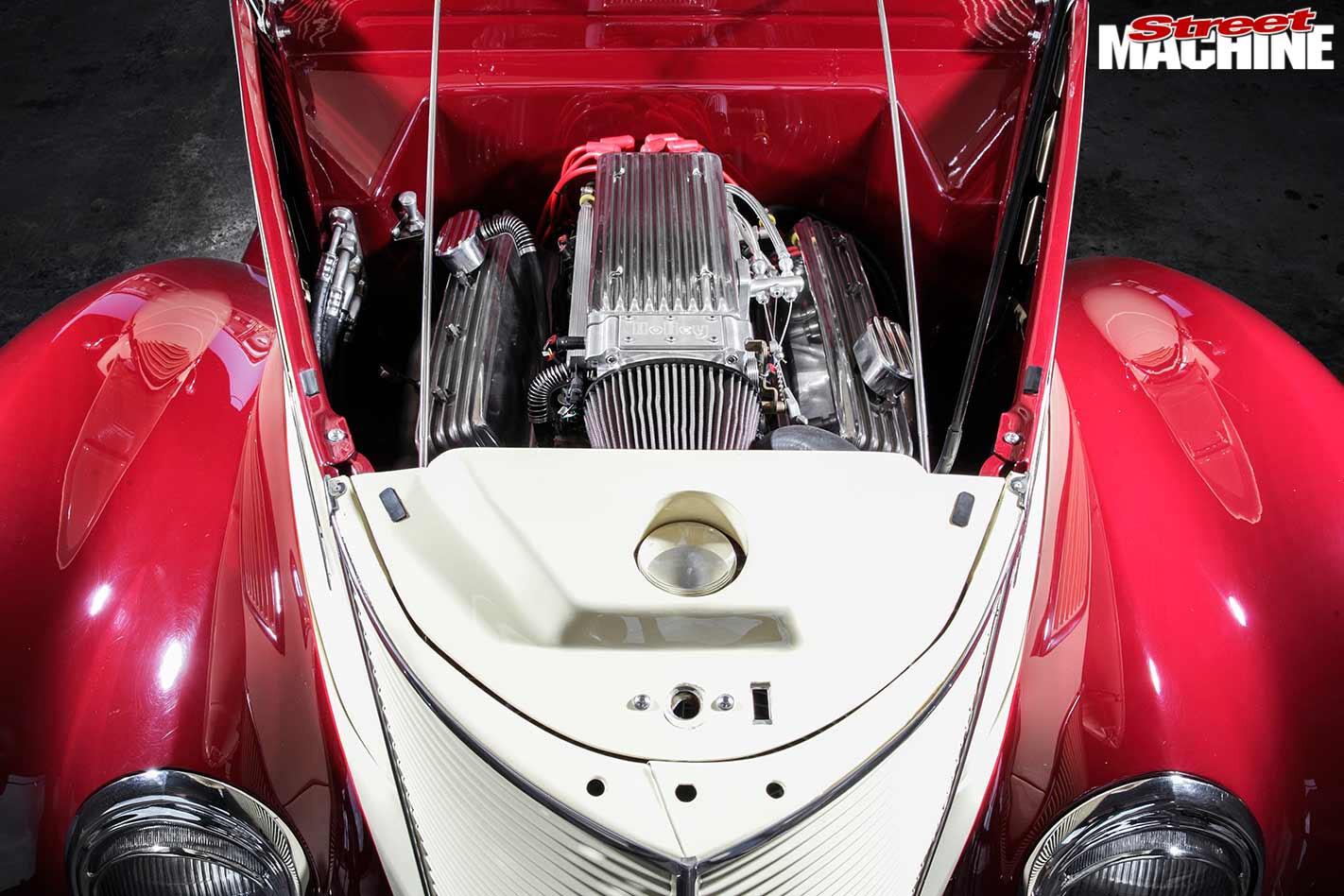 Ford Cabriolet engine bay