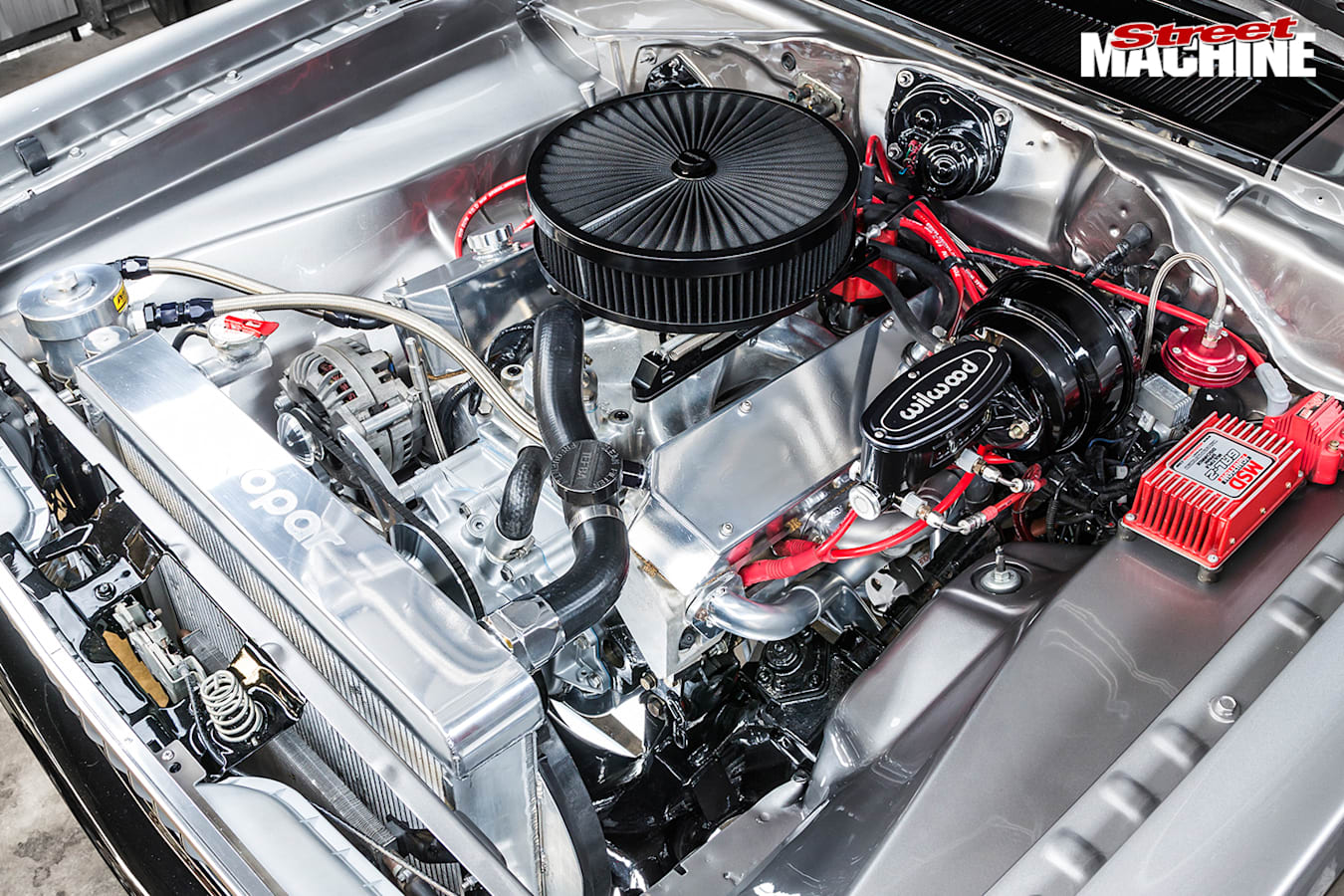 Plymouth -duster -engine -bay