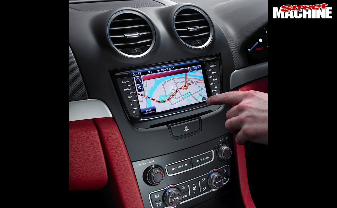 Holden Commodore navigation