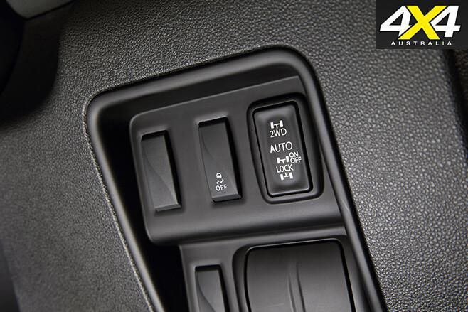 2017 Renault Koleos Intens 4x4 switches