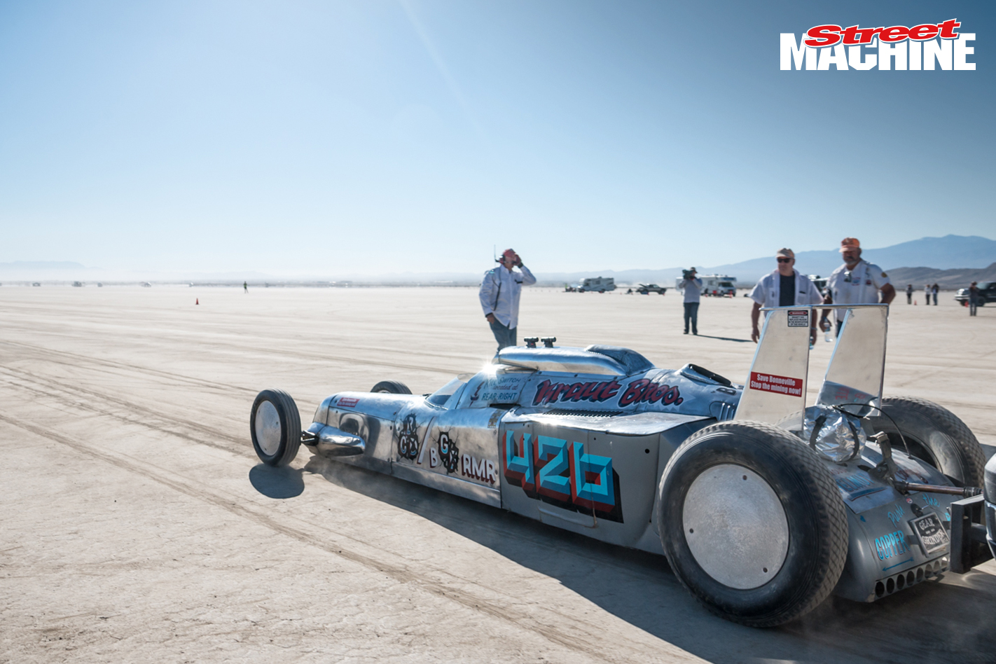 El Mirage Land Speed Racing 3525