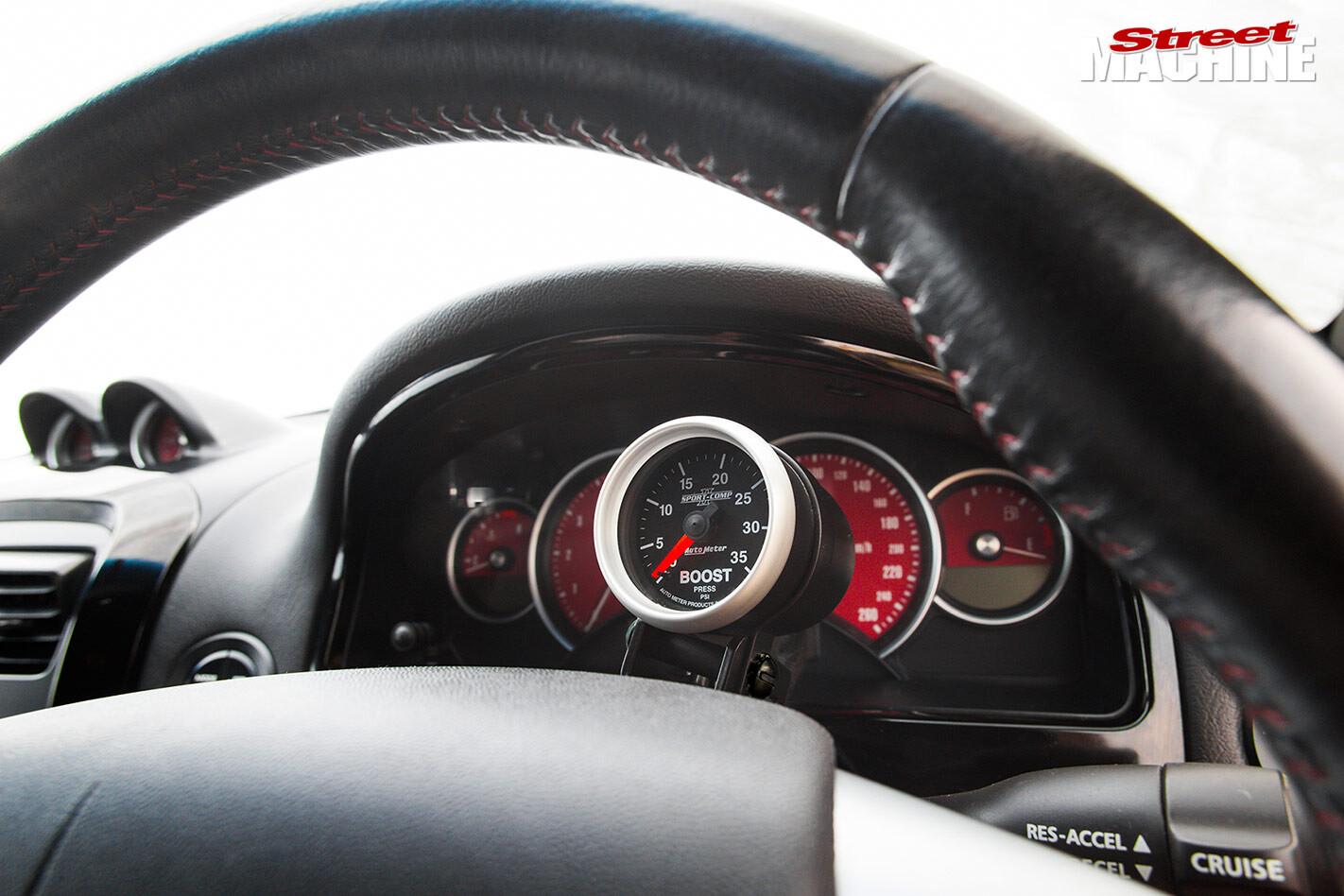 Holden Monaro gauges