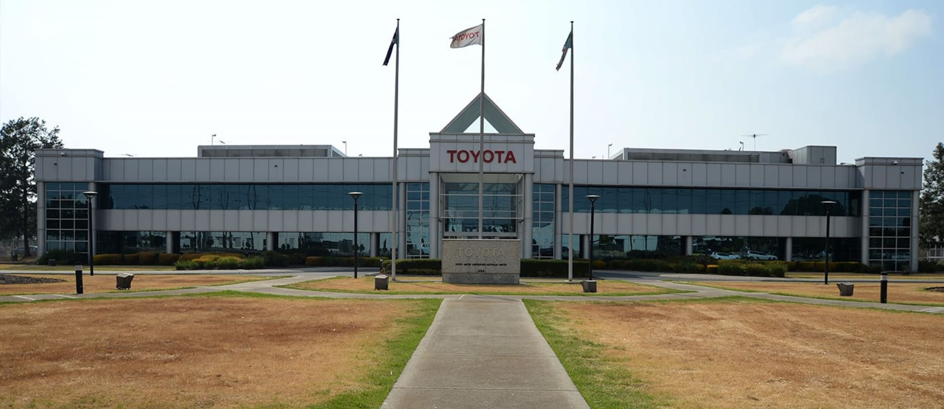 What happens after lights-out at Toyota's Australian factory?