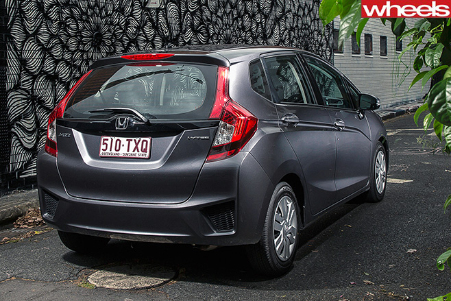 Honda -jazz -rear