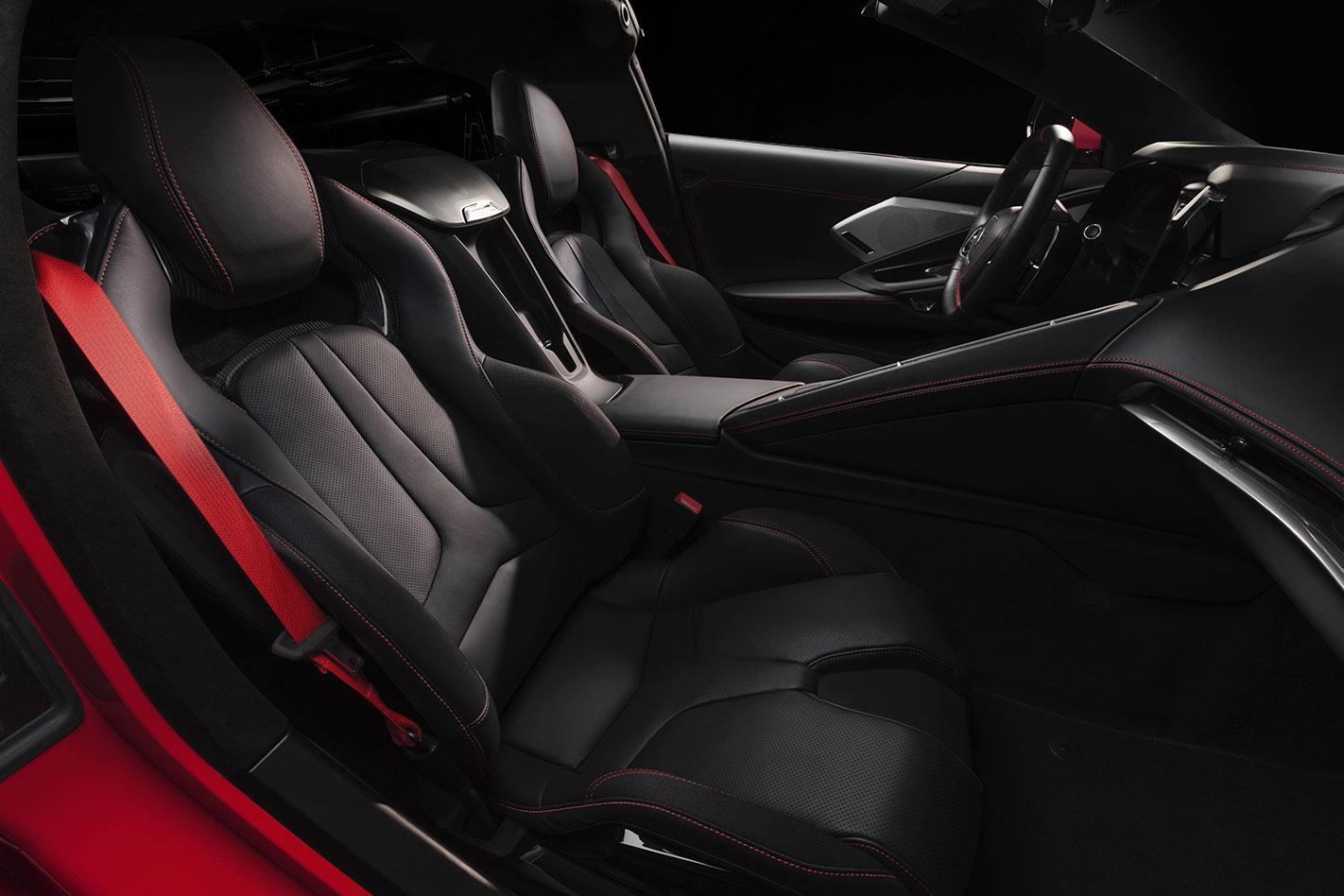 Chevrolet Corvette C8 Front Seats