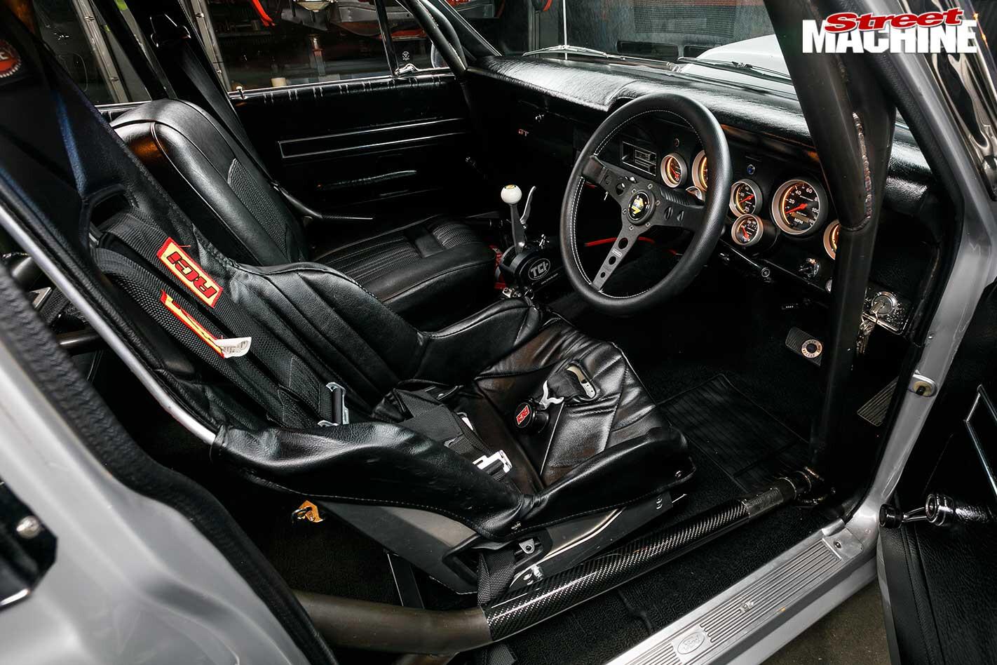 Ford Falcon XT interior