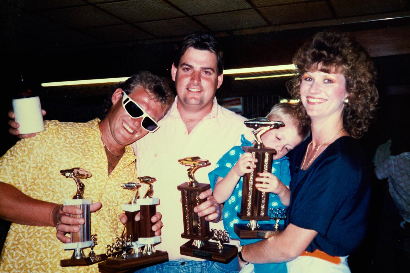 Rock Solid Falcon trophies