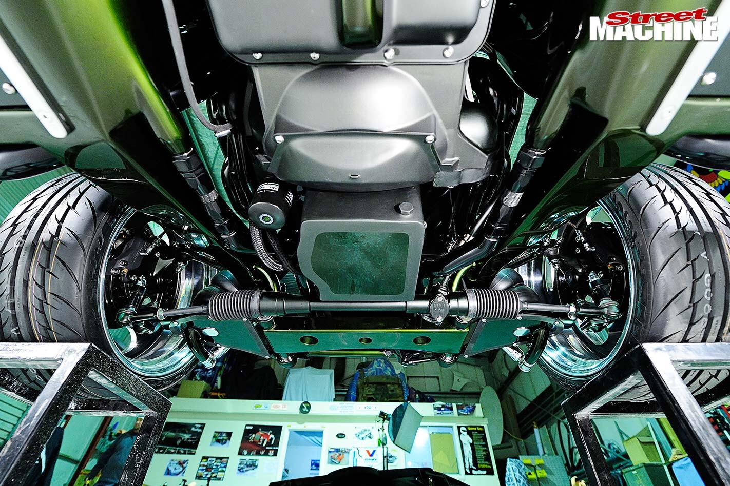 Ford XR Falcon underside