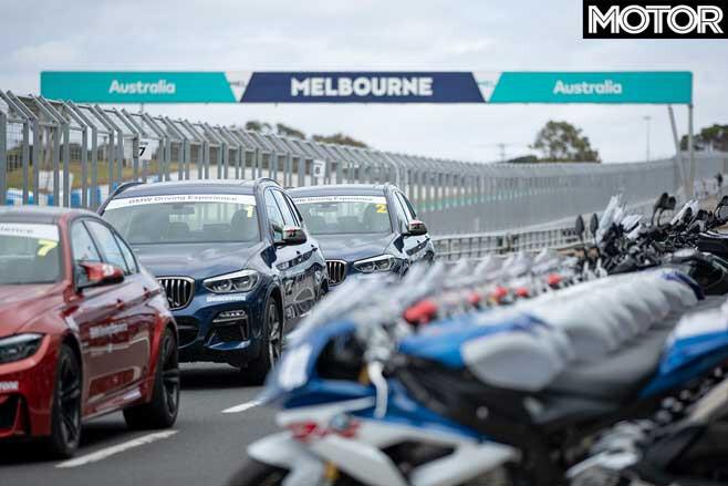 BMW M And Motorrad Phillip Island Pitlane Jpg