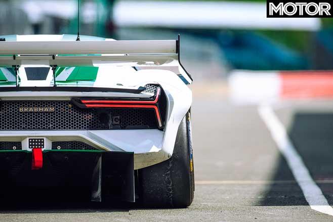2019 Brabham BT62 tail