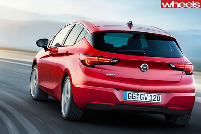 2016-Holden -Astra -rear