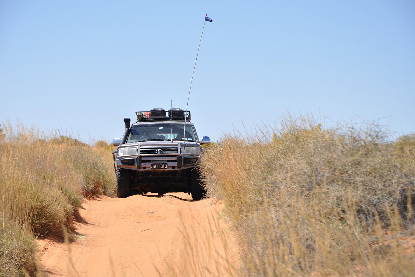 Simpson Desert 4x4