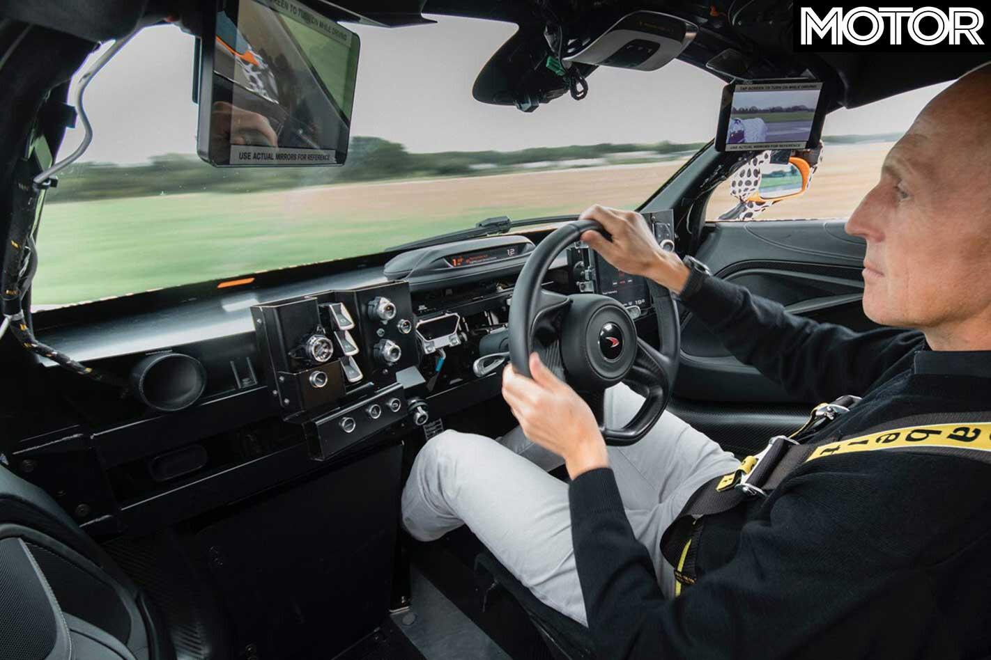 Mc Laren Speedtail BP 23 Development Cockpit Jpg
