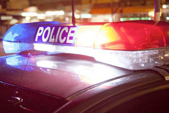 Victoria Police car lights