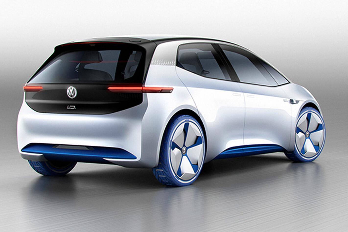 Volkswagen Id Paris Motor Show Concept Rear Jpg