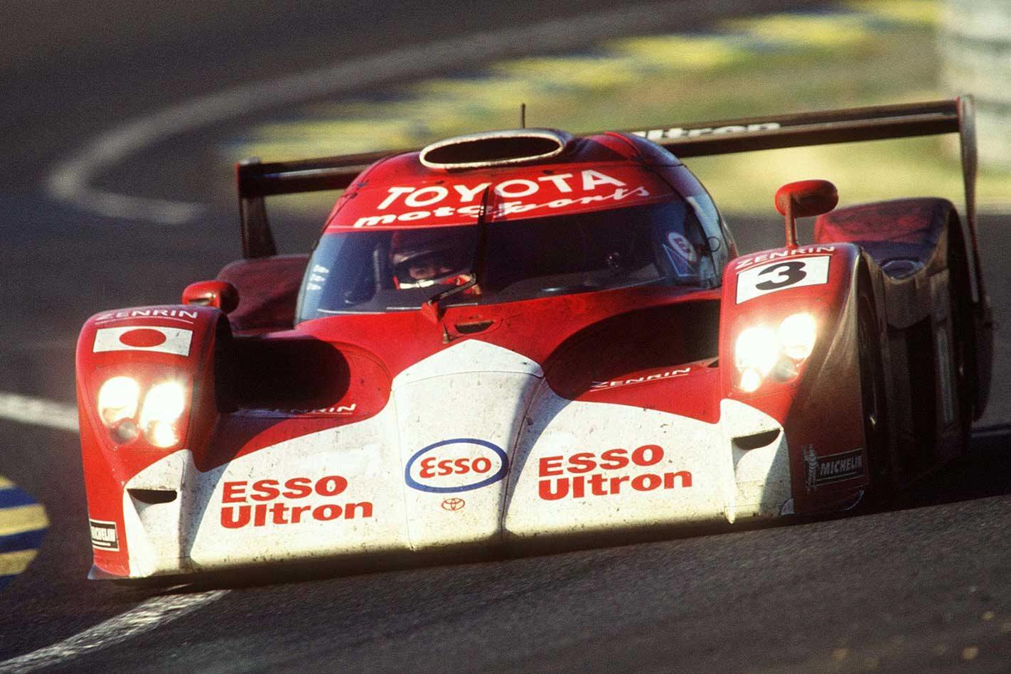 Best Toyota race cars history