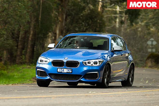 BMW M135i driving
