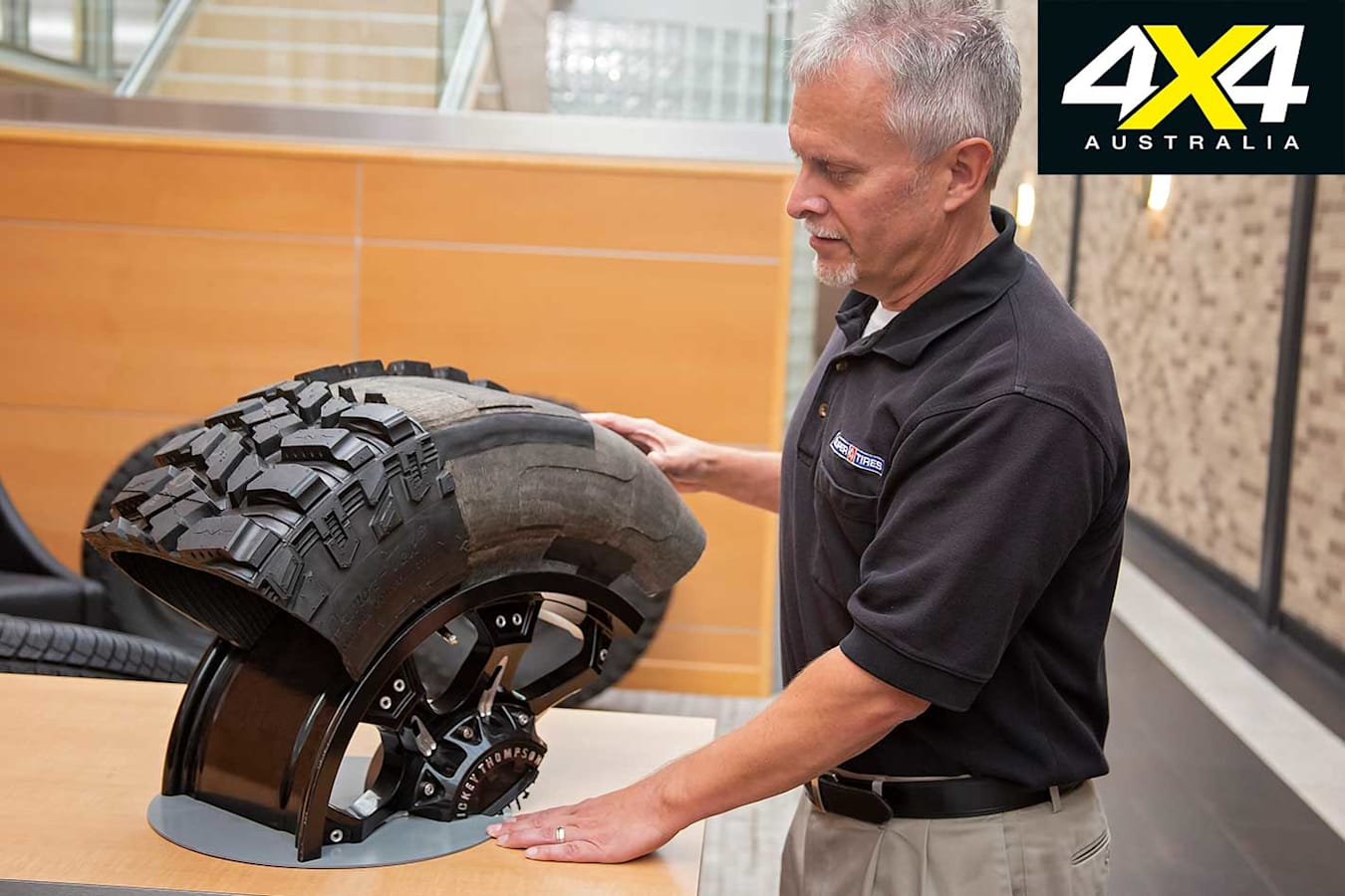 Ken Reuille 4 X 4 Tyre Construction Jpg