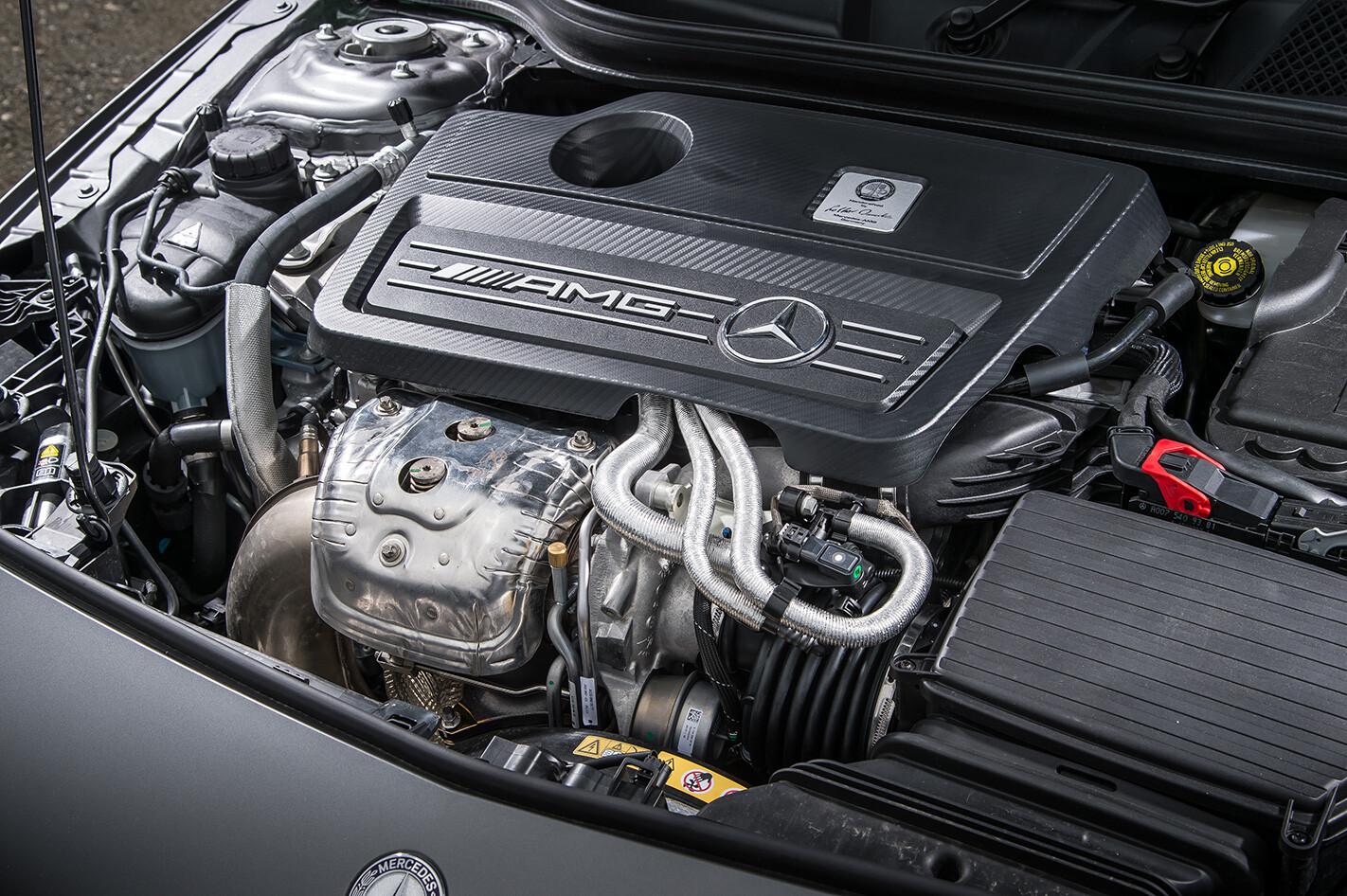 Mercedes A45 AMG engine.jpg