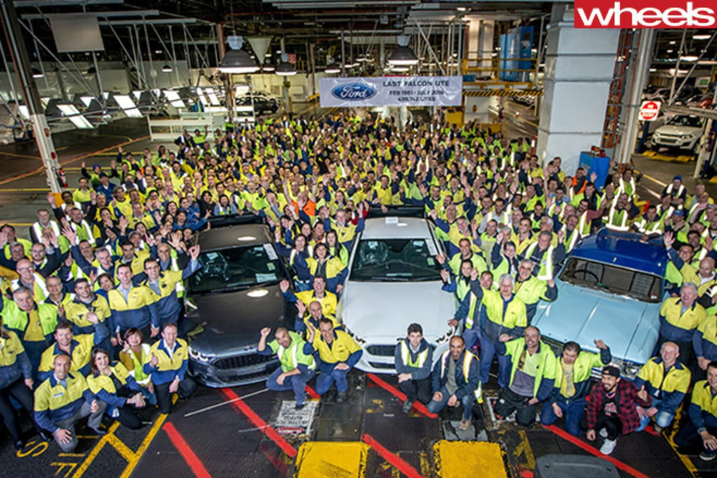 Ford -Australian -manufacturing -plant -closedown