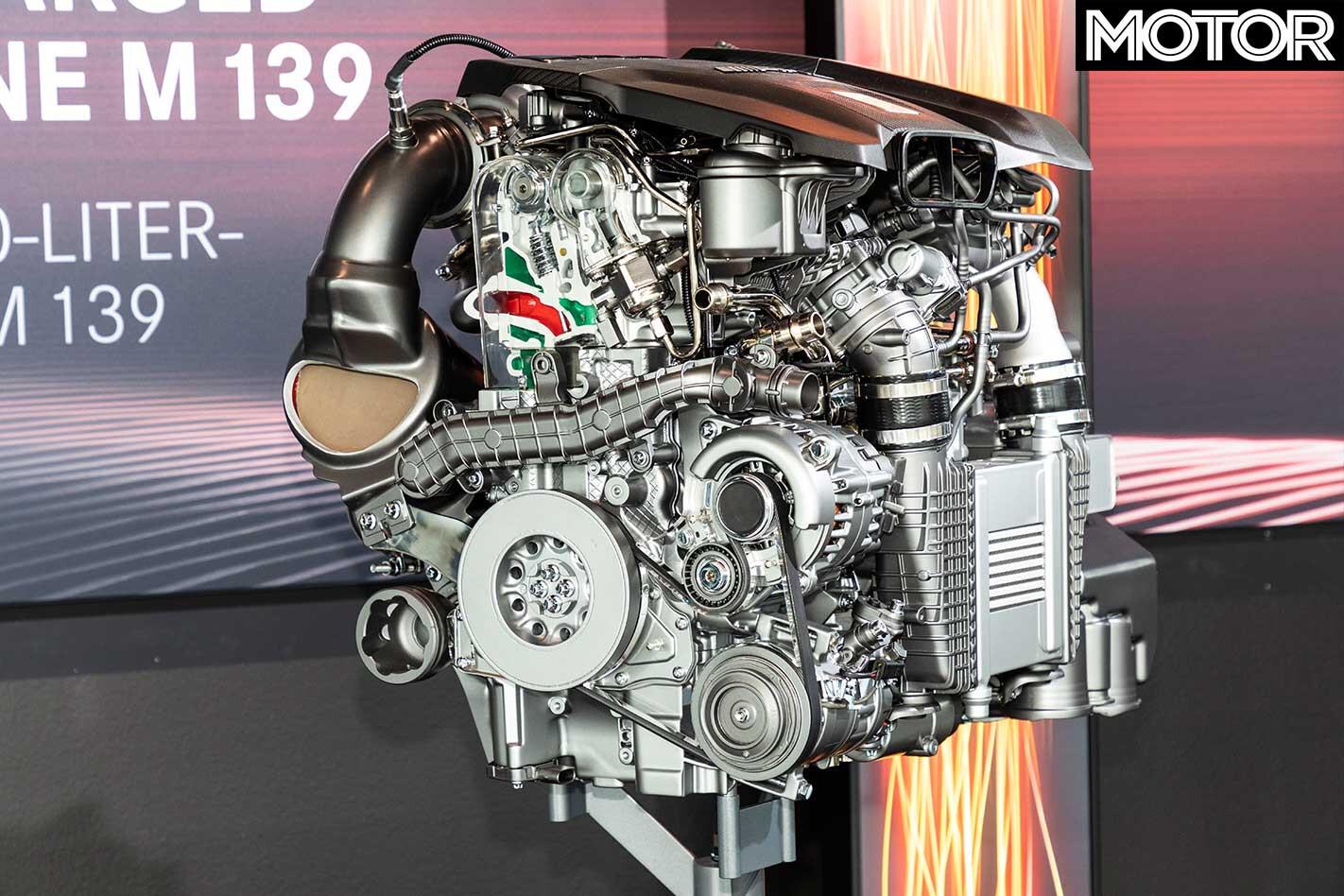 Mercedes AMG 310 K W M 139 Engine Cut Away Jpg