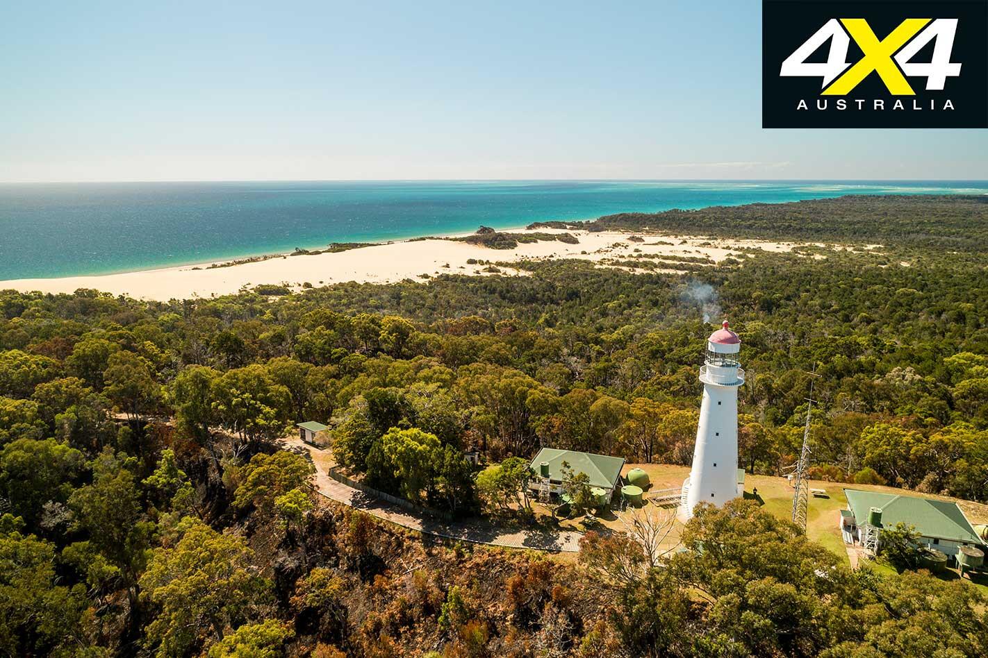 4 X 4 Adventure Series South East Queensland Part 2 Sandy Cape Lighthouse Jpg