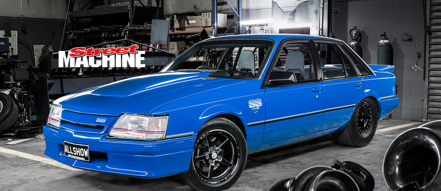 VK Commodore Blue Meanie ALLSHOW 1 nw