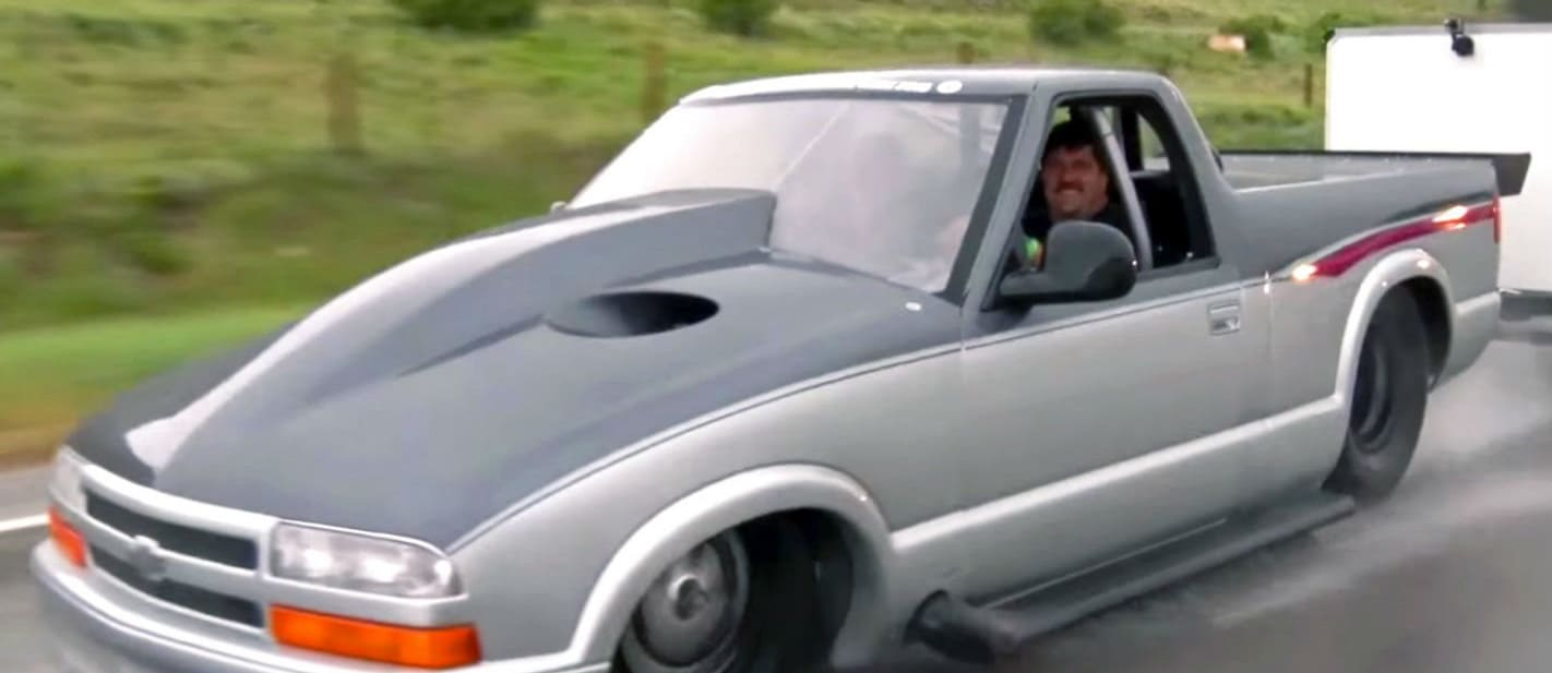 Five-second Chevy S10 pick-up is the world's quickest streeter