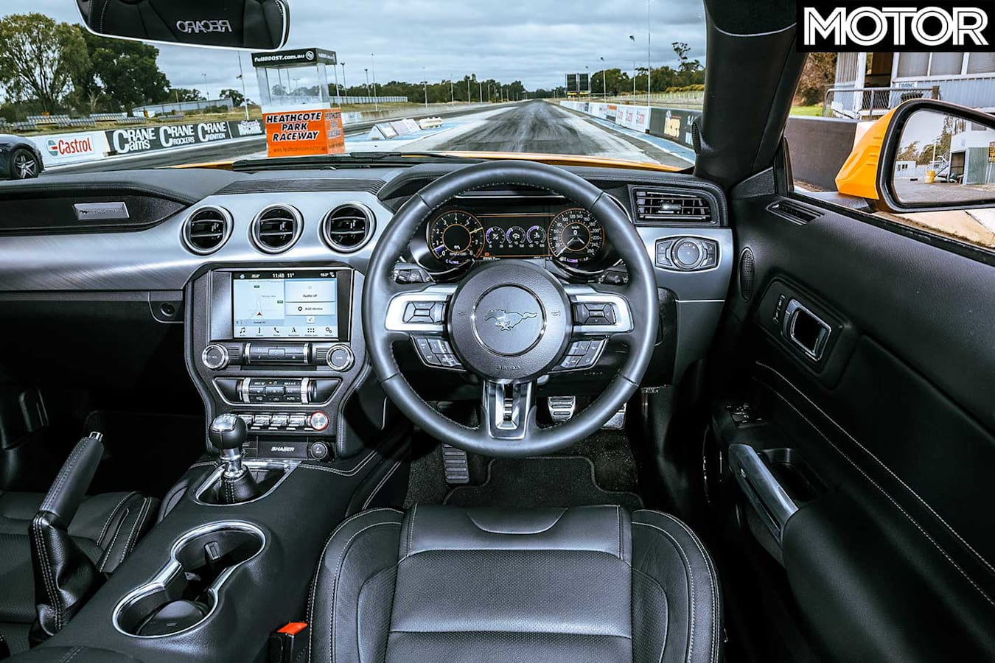 2018 Ford Mustang GT Dashboard Jpg