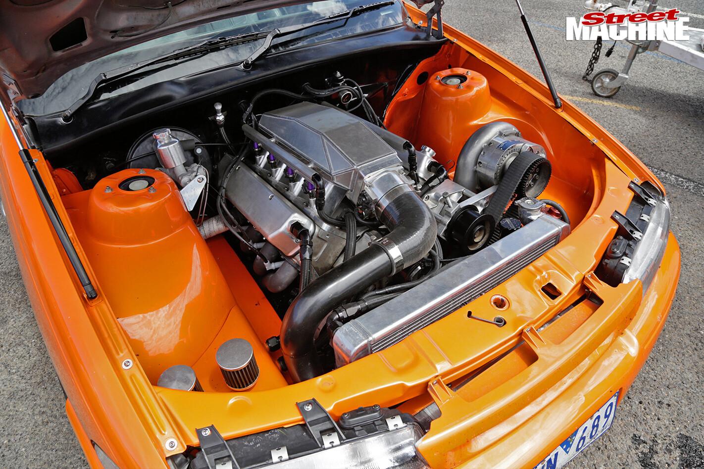 Holden -ute -engine -bay