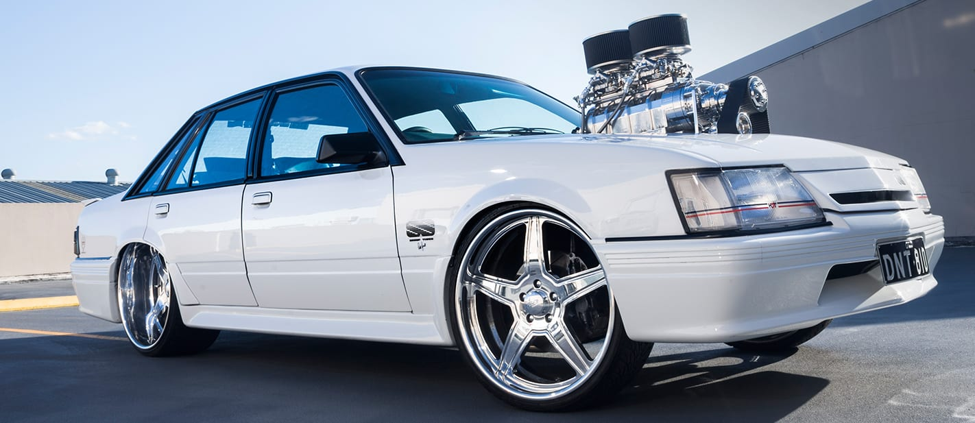 VK Commodore HDT group 3 blown 3 nw