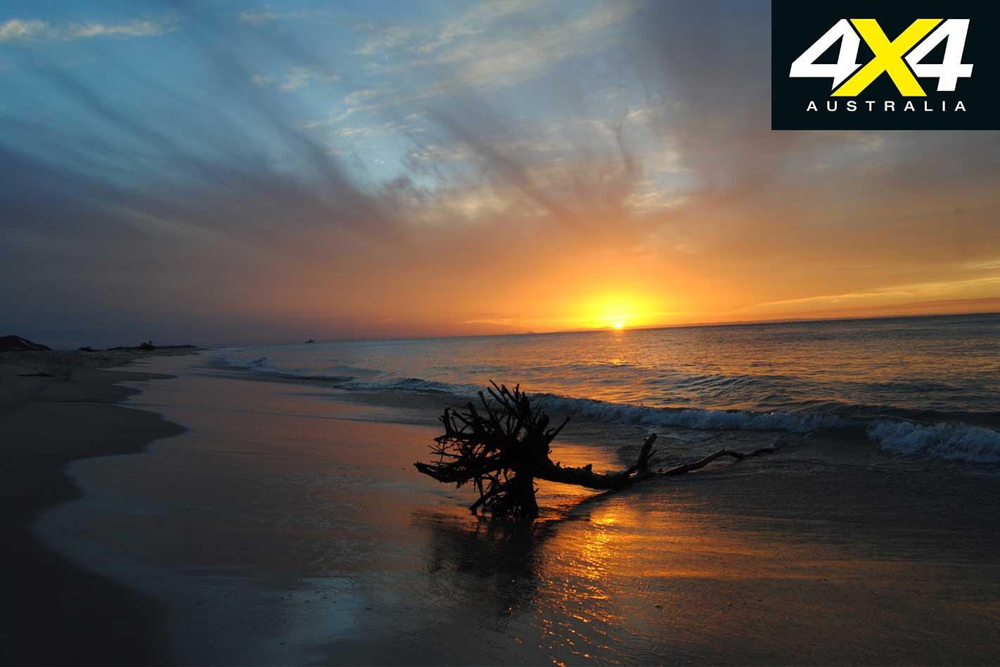 Cel Fi GO Repeater Remote Moreton Island Beach Sunset Jpg