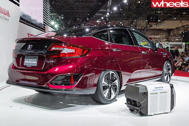 Honda -Clarity -Fuel -Cell -Vehicle -rear