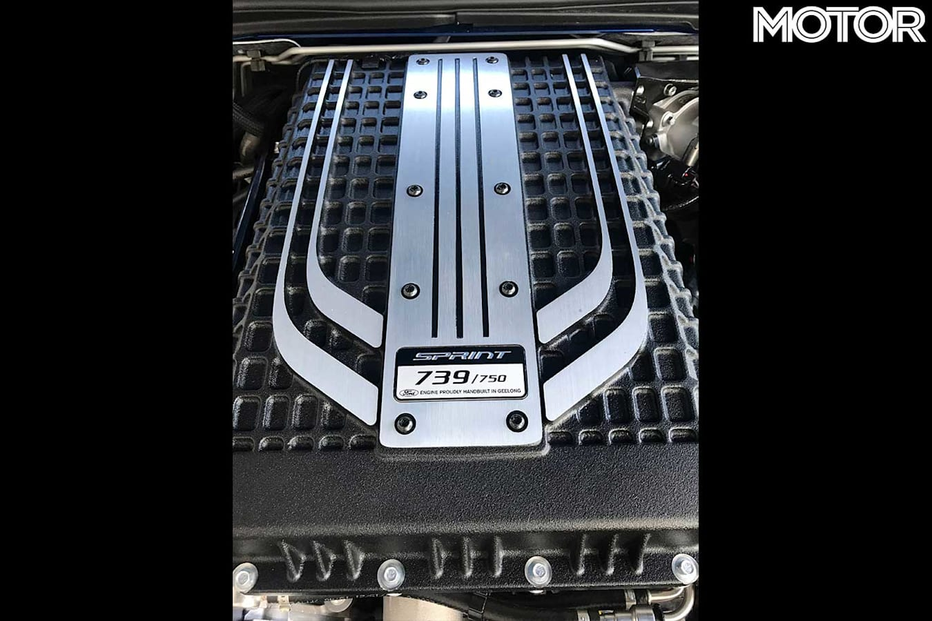 Final Ford Falcon Engine Build Plate Jpg