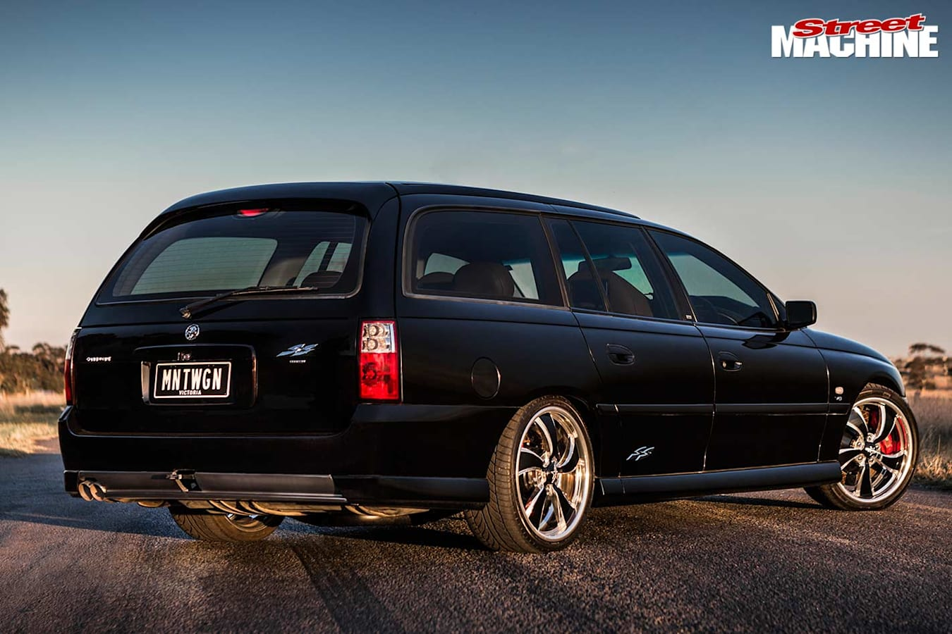 Holden Commodore VY SS wagon rear