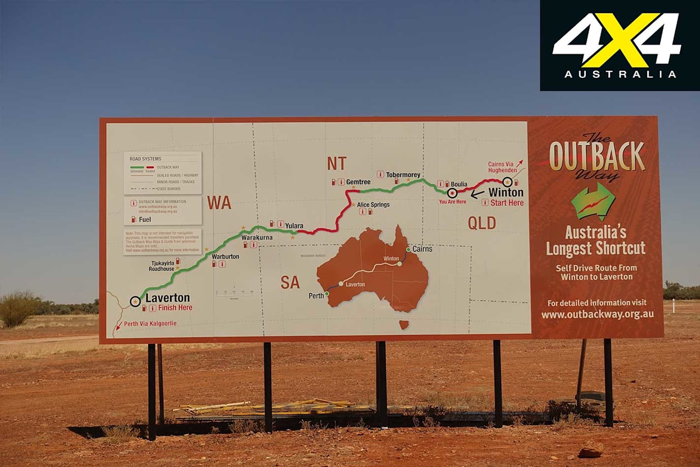 Plenty Highway NT Signage Jpg