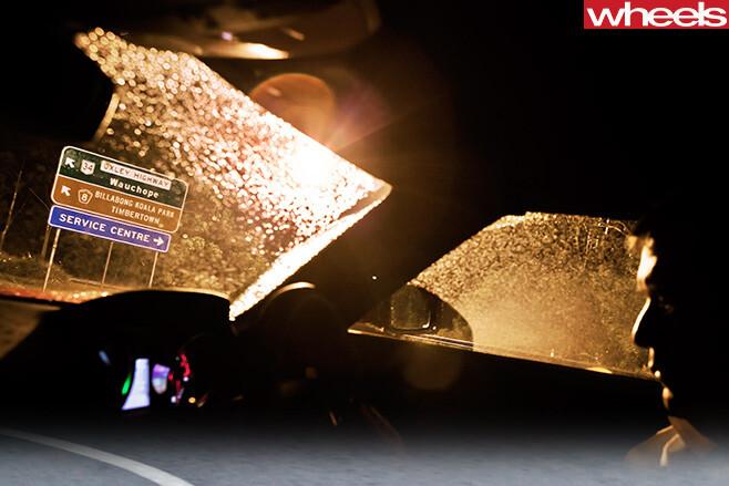 Driving -Mercedes -Benz -SLS-Cup -Oxley -highway