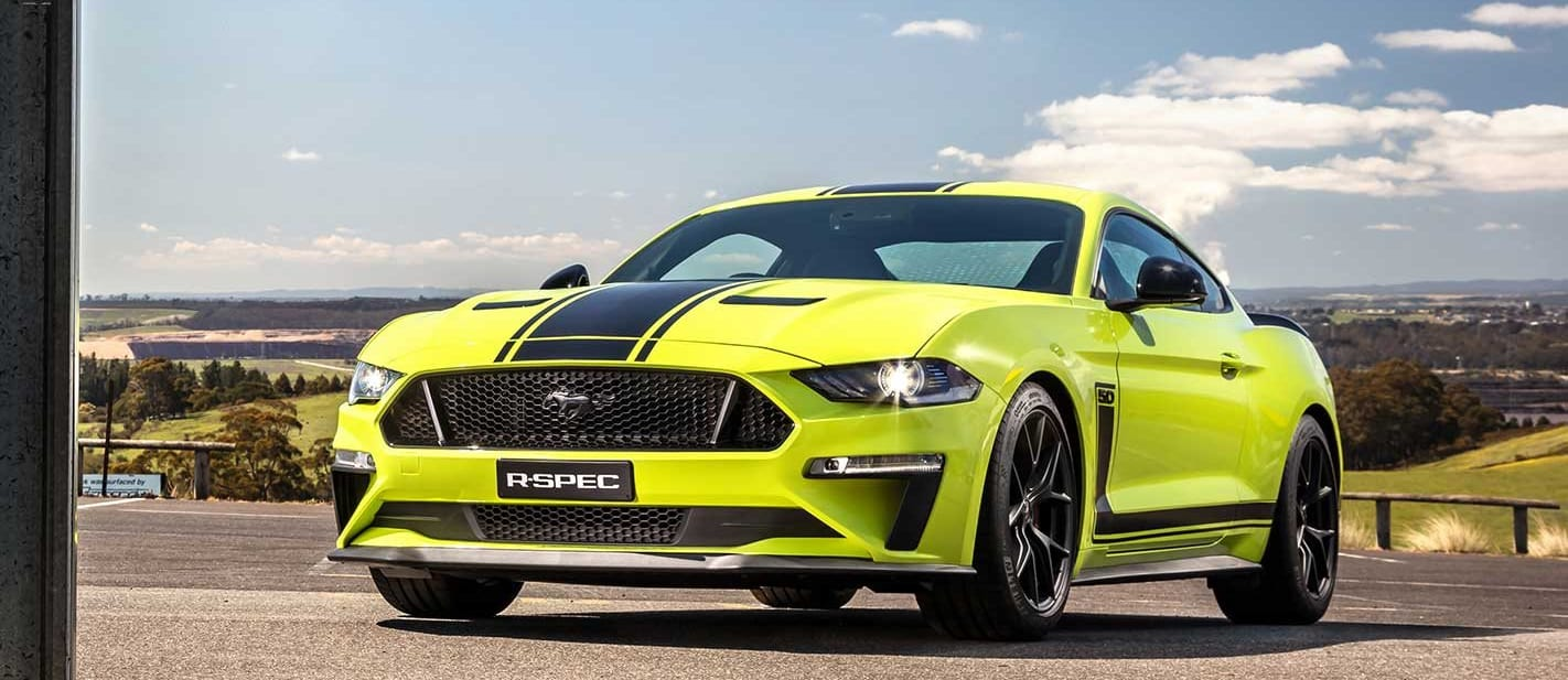 Ford Mustang R-Spec production story