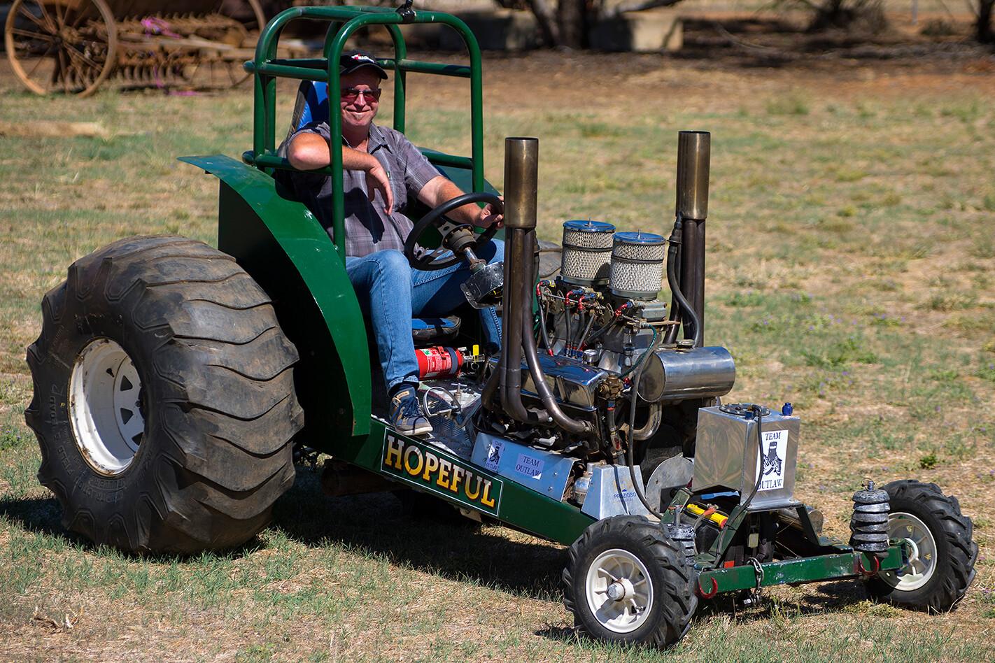 super modified mini tractor - matt wood
