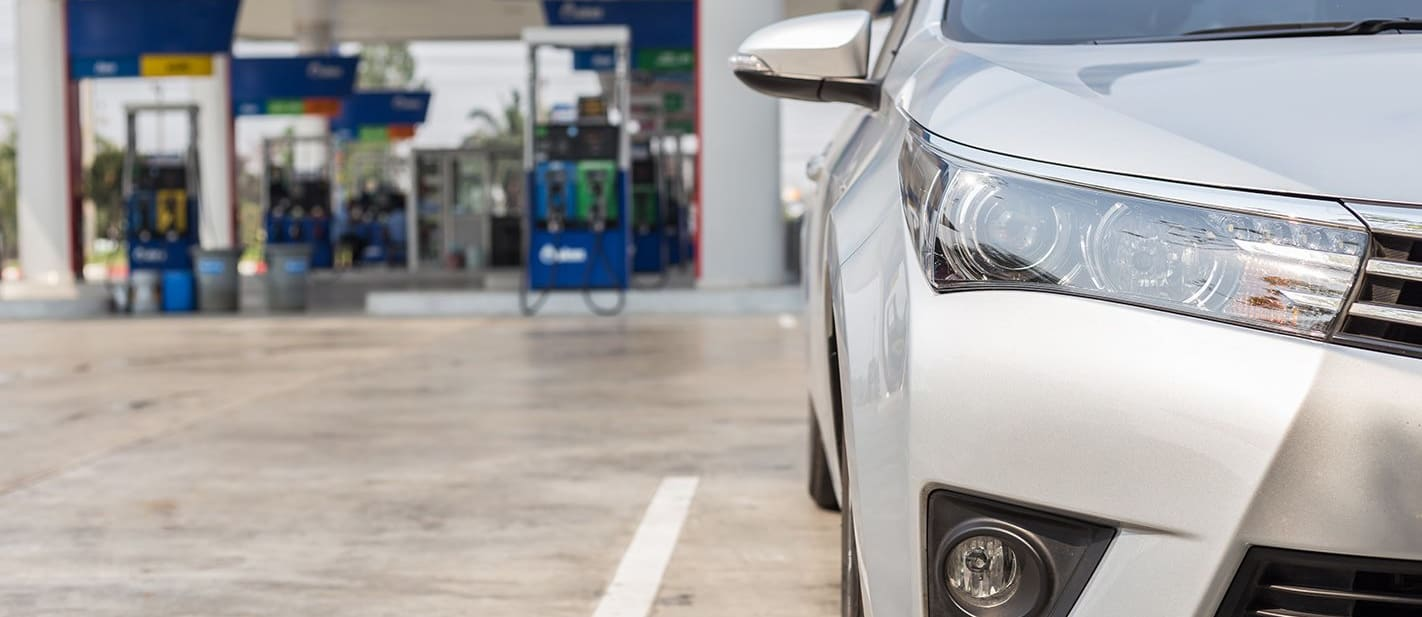 Toyota Out Front Fuel Station Jpg