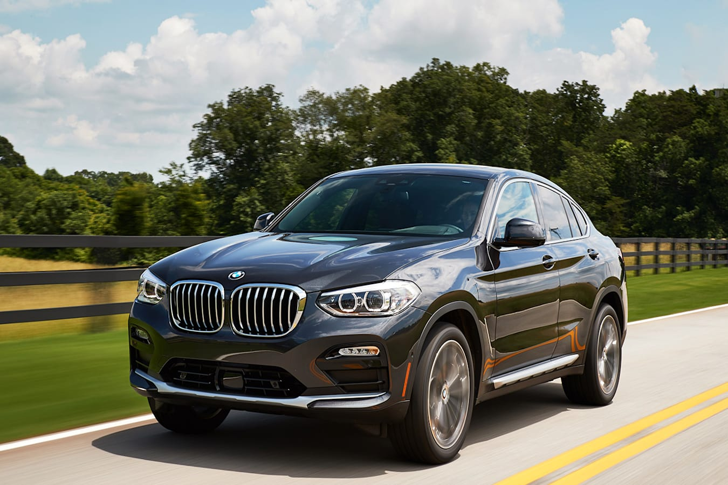2019 BMW X4 front