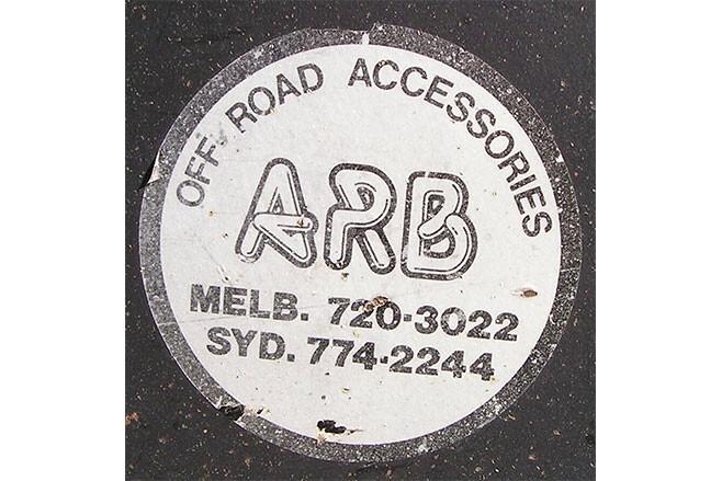 ARB old logo